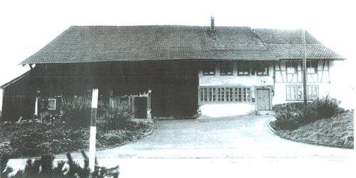 Bauernhaus ursprünglicher Zustand