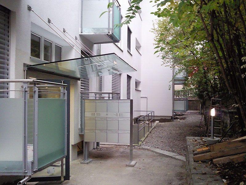 Eingangsbereich Haus Nr. 6