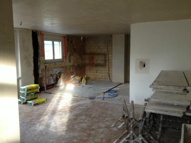 Umbauphase 3 Zimmerwohnung