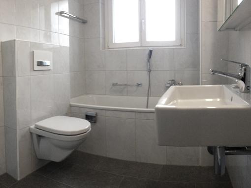 Badezimmer nach Umbau