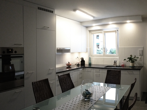 Küchenbereich nach Umbau