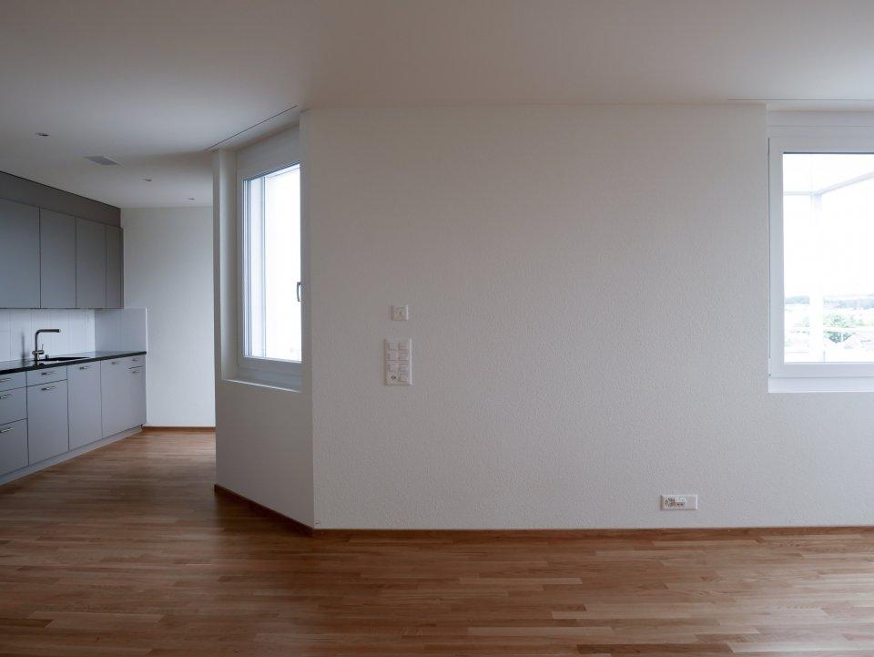 Attika Wohnung: Wohnzimmer/Küche