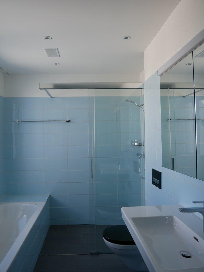 Attika Wohnung: Badzimmer