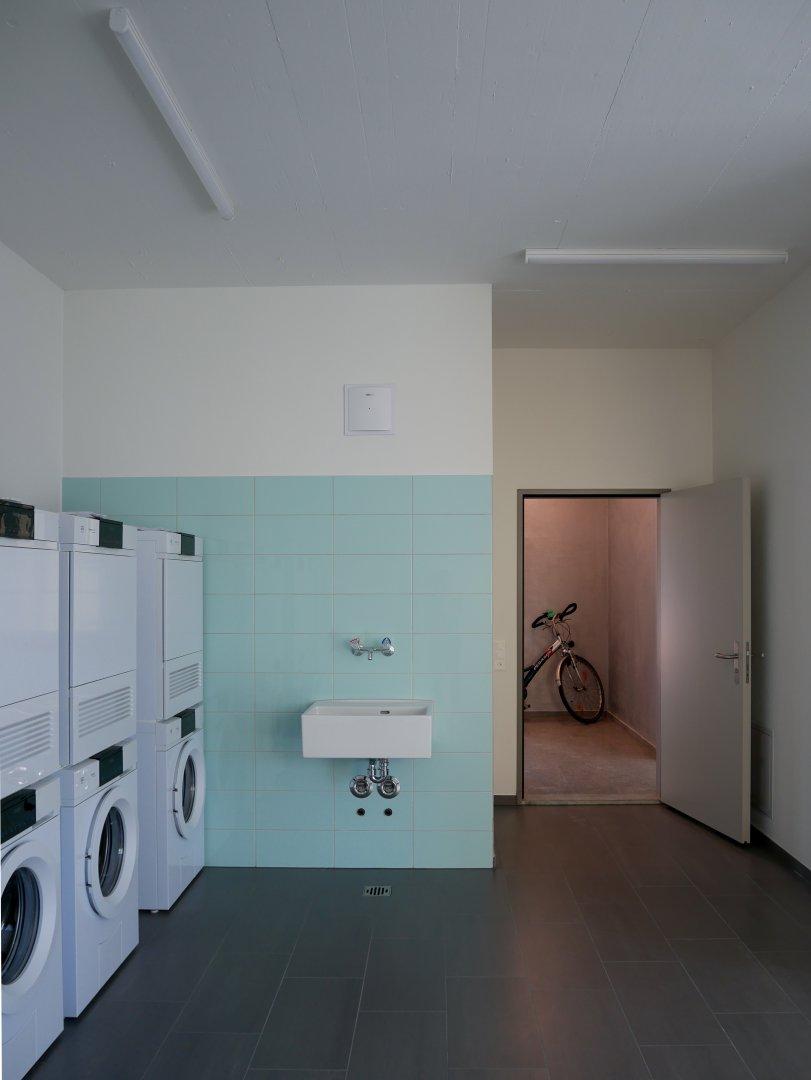 Waschküche im Erdgeschoss