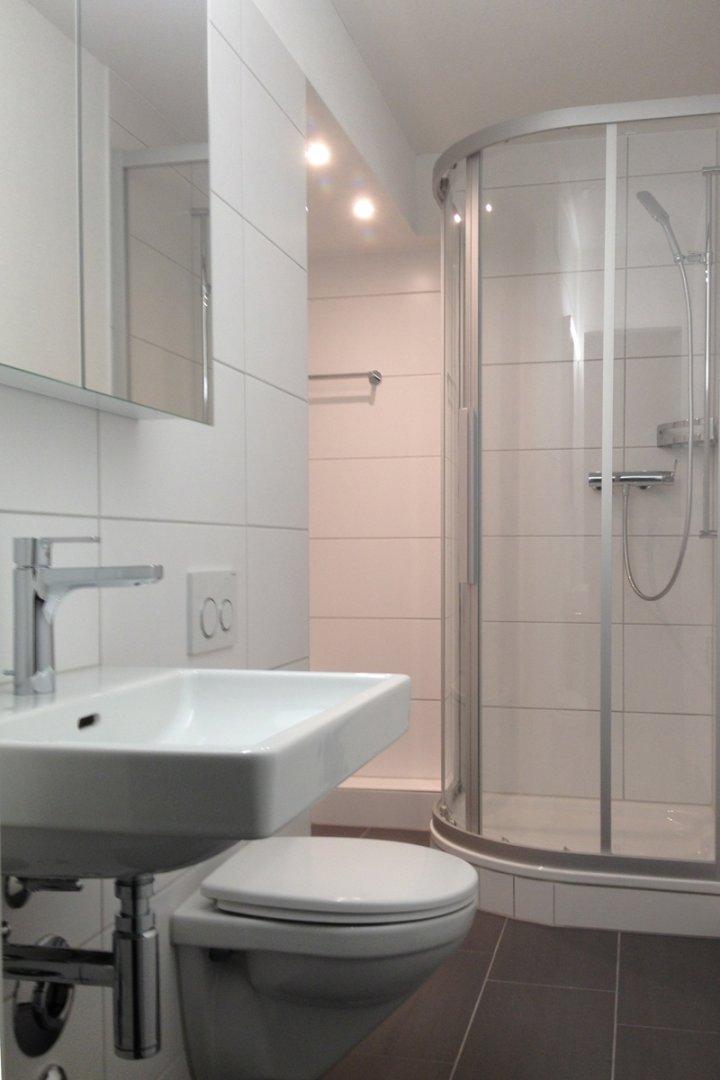 Bestehende Wohnung - WC / Dusche neu