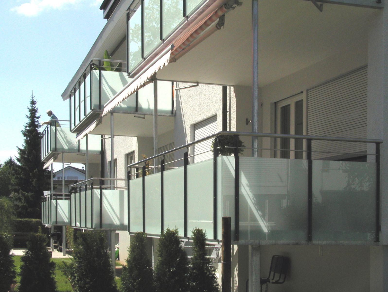 Detailansicht Balkonerweiterung