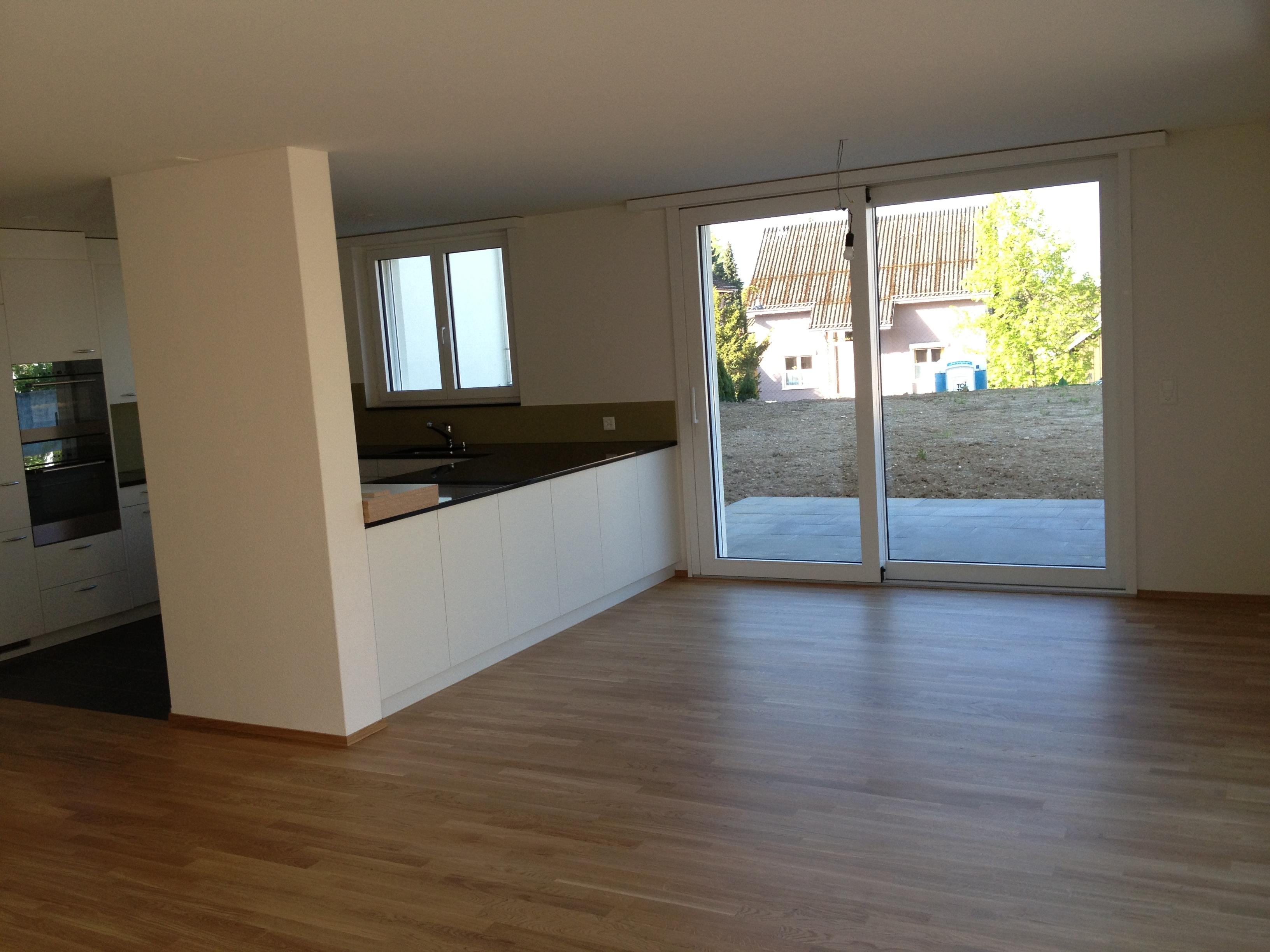 Wohnbereich mit Küche 5½ Zi-WHG